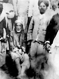 Original Photo graph of Shirdi Sai Baba with Devotees and Disciples